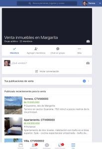 Grupo de Ventas en Facebook